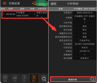 商品期权交易软件-咏春使用手册