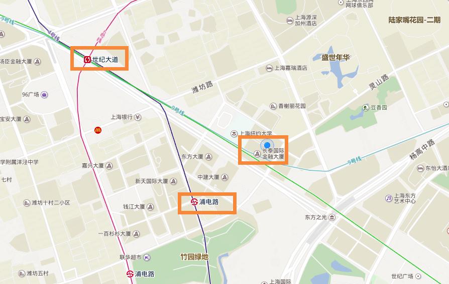 上海期货公司地址