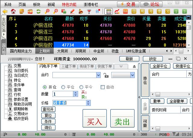 博易大师模拟(博易云)期货账号怎么申请注册